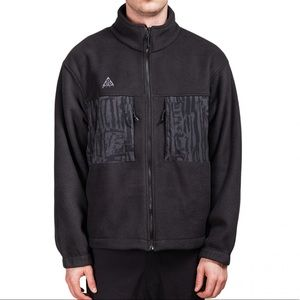 Men's Black Nike ACG Fleece Jacket